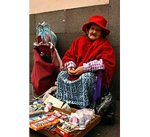 People 4051 Quito, Ecuador Photographic Print