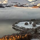 Inversion over Ullswater by mountainsandsky