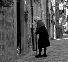 Almost There-Bolsena, Italy by Deborah Downes