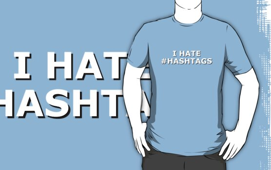 I hate hashtags by BeansCollection
