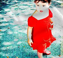 My little red bubble by Katherina Bilko
