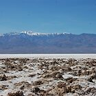 Death valley...   salt beds by Amanda Huggins
