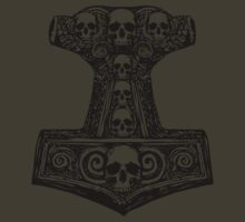 Thors Hammer Black by ZugArt