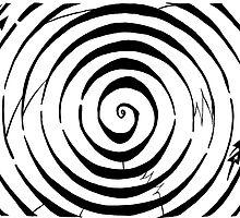 Eliptical Spiral Maze  by Yonatan Frimer