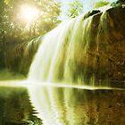 Waterfall pool by MotHaiBaPhoto Dmitry & Olga
