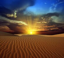 Sandy desert by MotHaiBaPhoto Dmitry & Olga