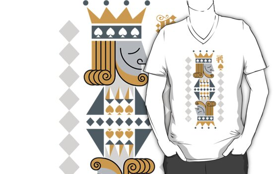 King of Spades Signature Tee by Emilio Carnero