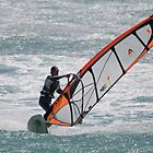 Windsurfing at Los Canos de Meca by AJM Wind+Kite