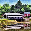 Covered Bridge - painted by PhotosByHealy