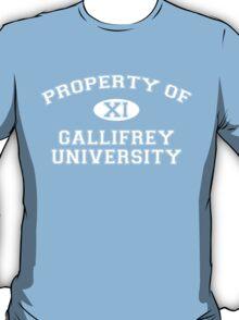 Property of Gallifrey University - 11th Doctor T-Shirt