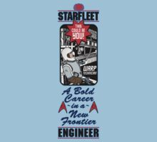 Join Starfleet: Engineers Wanted! by Adam Campen