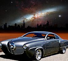 """1950 Studebaker, """"The Dark City Cruiser"""" by TeeMack"""