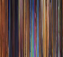 Moviebarcode: Toy Story 2 (1999) by moviebarcode