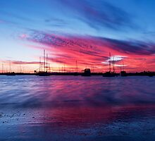 """Bunbury Harbour"" by Heather Thorning"