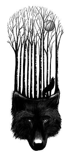 Wolf barcode by SFDesignstudio