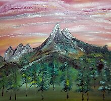 Visions of Banff by James Bryron Love