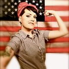 Tracy the Riveter by Lilly  Fuentes-Joy