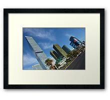 City Centre, Las Vegas Framed Print