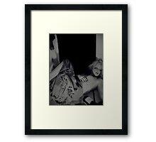 Down Framed Print