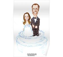 The Royal Wedding by Londons Times Cartoons Poster