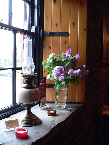 """Pint of Lilac""The Rising Sun,Mullinavat,Co. Kilkenny,Ireland by Pat Duggan"