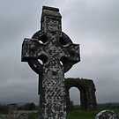Celtic Cross at Rathkieran,Mooncoin,Co. Kilkenny,Ireland. by Pat Duggan