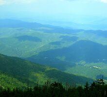 Vista - Smoky Mountains by Glenn Cecero