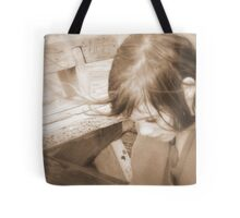 Drifting in a chill wind Tote Bag
