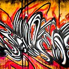 Lillesden Graffiti #2 by Richard Pitman