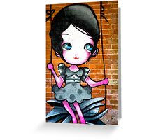 Lillesden Graffiti #6 Greeting Card
