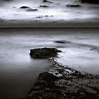 Rocky Shores Of Agios Georgios by Aj Finan
