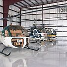Chopper Triplets (Bell 47) by Mark Kopczewski
