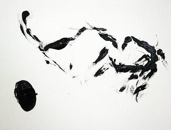 Buffalo Hunt by debsrockine