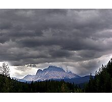 A Crown of Clouds Photographic Print