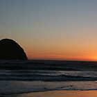 Pacific Sunset - Cannon Beach, OR by searchlight