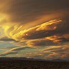 Golden Sierra Wave by Nolan Nitschke