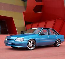 Blue Holden VK Commodore by John Jovic