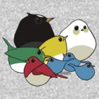 Not-so Angry Birds by KRASH (Ashlee Fensand)