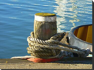 A Mooring Post...Southampton Marina, UK by PollyBrown