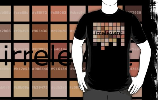 t-shirt skin tones (with hex codes) by Octochimp Designs