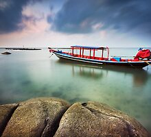 Laem Set Fishing Boat by Ben Ryan