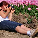 JOKUS SHOOTING TULIPS by Johan  Nijenhuis