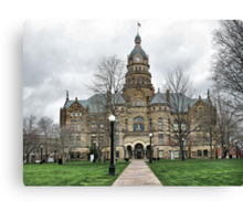Trumbull County Courthouse Canvas Print