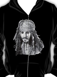 Captain Jack Sparrow (b/w) T-Shirt