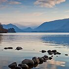 Evening Light over Derwent Water by mountainsandsky