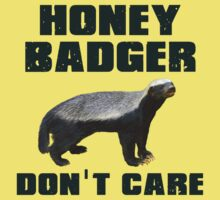 Honey Badger Don't Care by gleekgirl