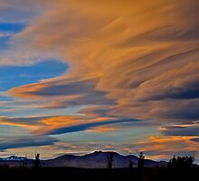 Evening Storm by Jeffrey  Sinnock
