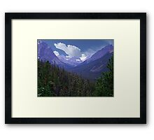 Tonquin Valley Framed Print