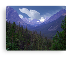 Tonquin Valley Canvas Print