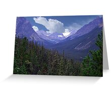 Tonquin Valley Greeting Card